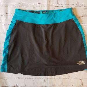 The North Face Grey Eat My Dust Running Skorts
